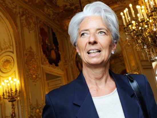 כריסטין לגארד שרת האוצר הצרפתייה / צלם:רויטרס